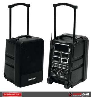 Akku Box mieten - mobile Tonanlage