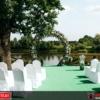 Hochzeitssessel mieten mit Hussen
